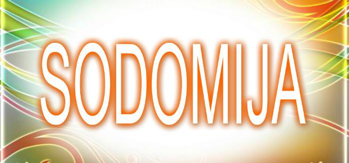 Sodomija
