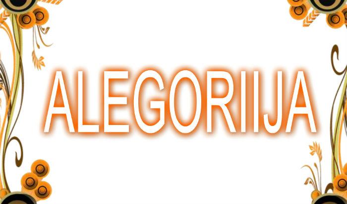 Alegorija