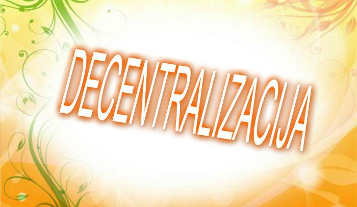 Decentralizacija