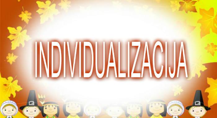 Individualizacija