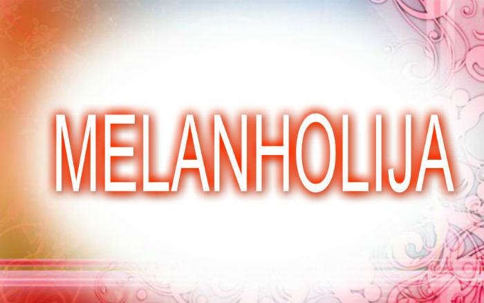 Melanholija