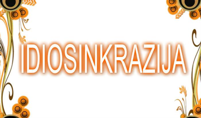 Idiosinkrazija